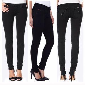 Hudson Collin Black Skinny Jeans